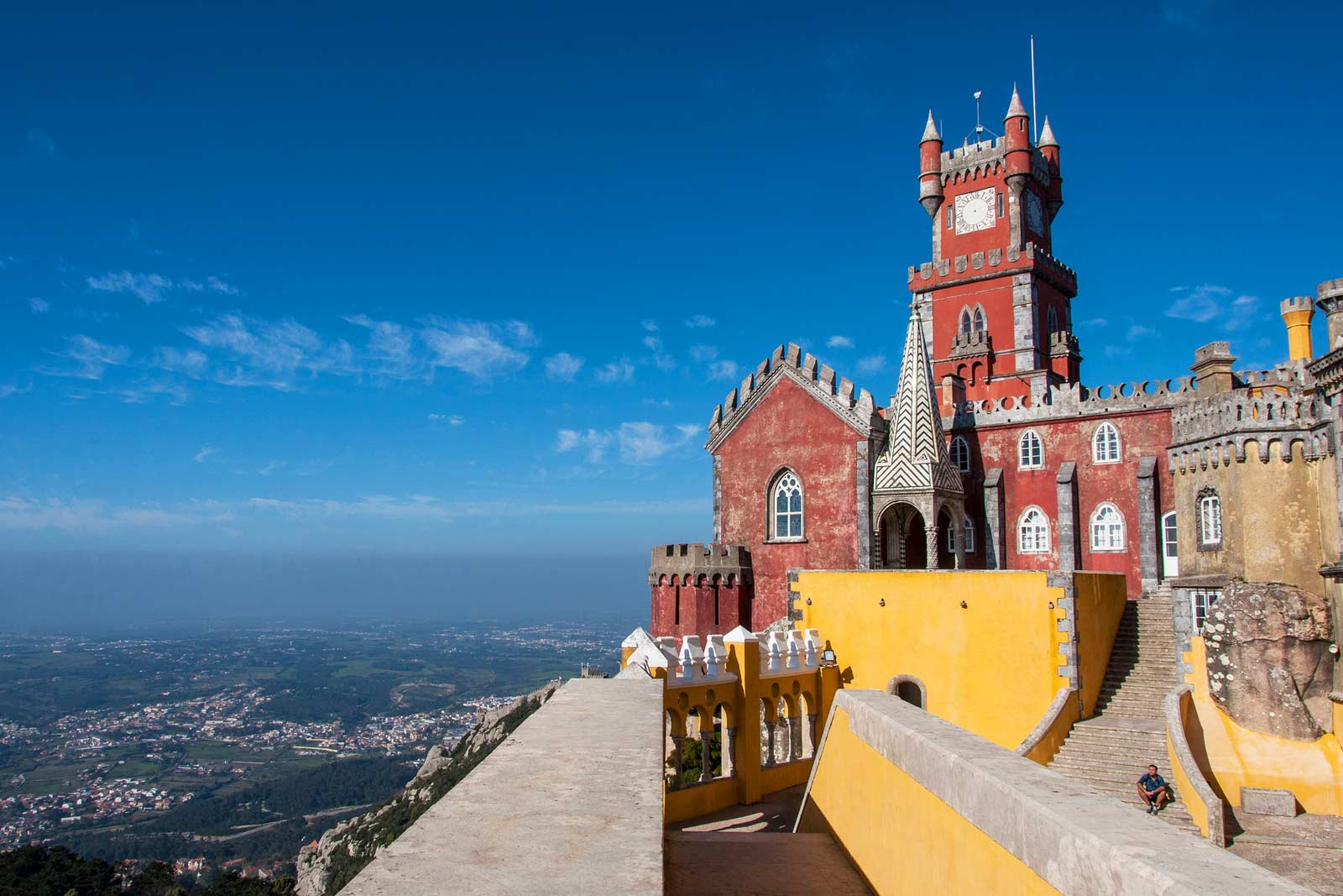 Palace of Pena near Sintra